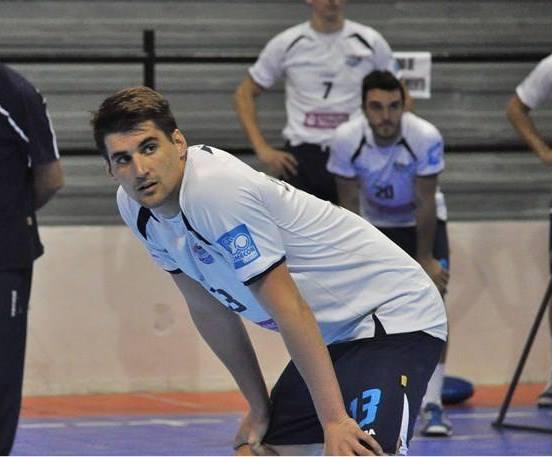 L'international argentin Lisandro Zanotti 🇦🇷, réceptionneur-attaquant de 27 ans,...