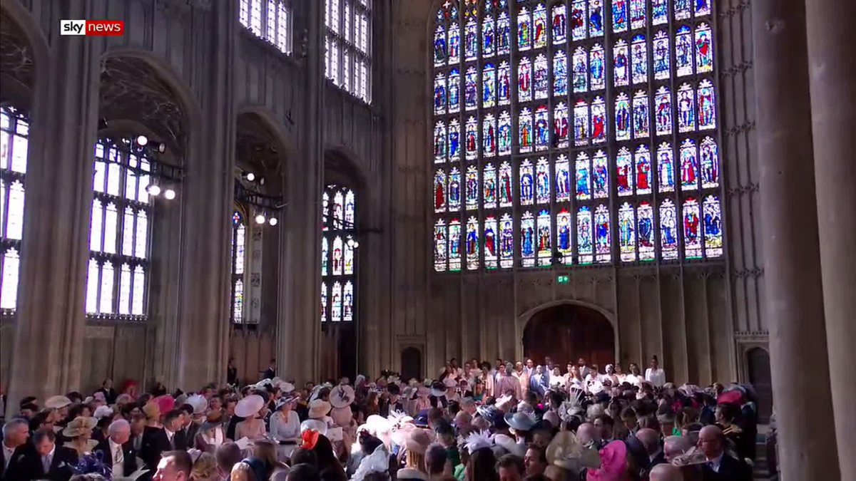 Gospel choir sing Stand By Me at the RoyalWedding