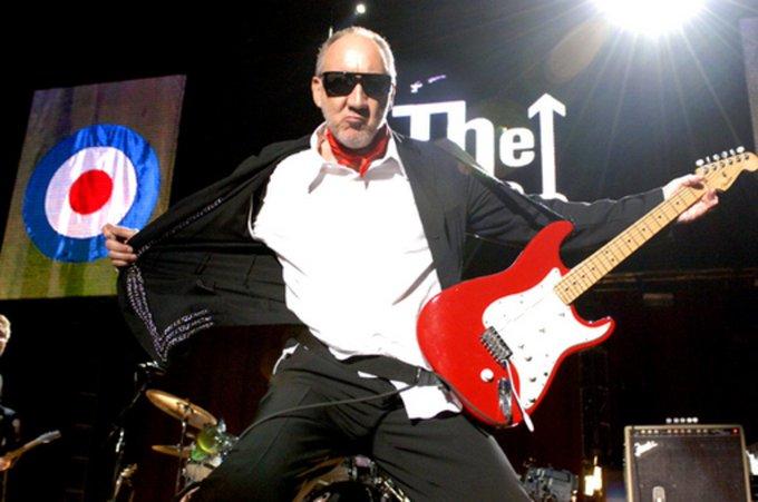 Happy Birthday/ Feliz Aniversário! Pete Townshend Ao guitarrista nº1 Com mto amor!