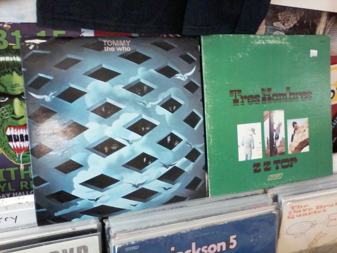 Happy Birthday to Pete Townshend of The Who & Dusty Hill of ZZ Top
