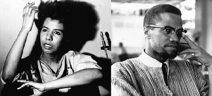 Happy Birthday to two of my societal influencers Malcolm X and Lorraine Hansberry.