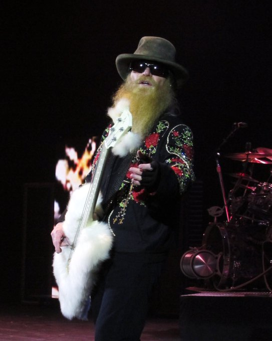Happy 69th birthday to Dusty Hill of ZZ TOP