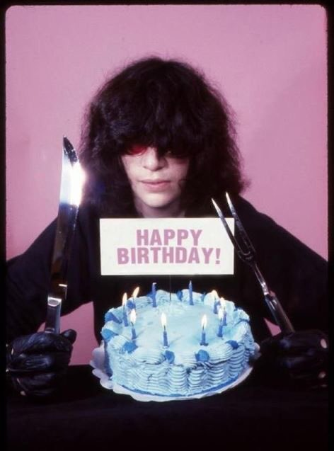 Happy birthday dear Joey Ramone
