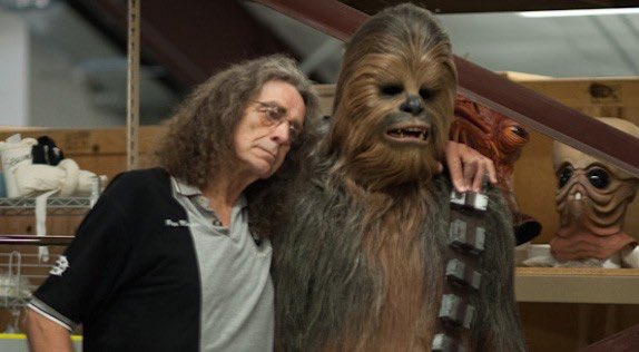 Happy 74th Birthday to Chewbacca himself, Peter Mayhew!