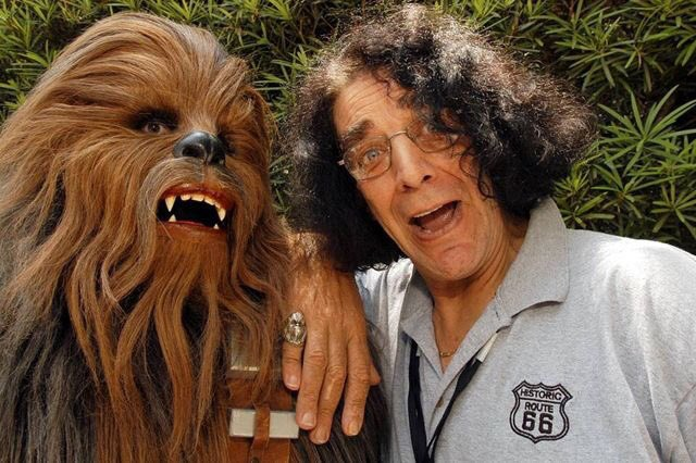 Happy birthday Peter Mayhew (aka Chewbacca)