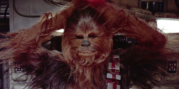 Happy 74th Birthday to Chewbacca himself Peter Mayhew