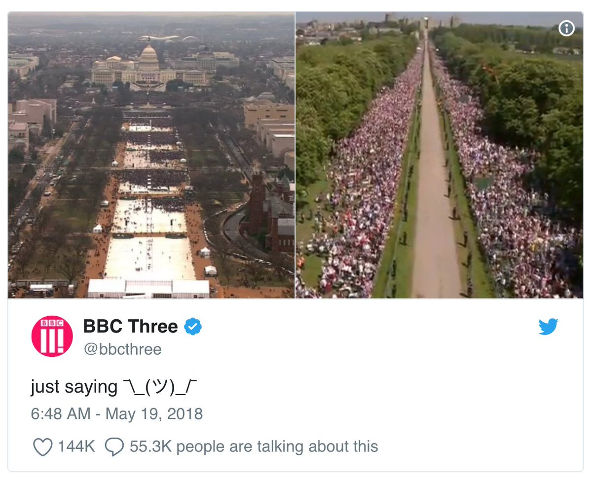 BBC uses Harry and Meghan's bi inauguration day