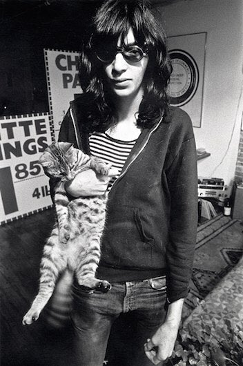 Happy Birthday Mr. Jeffrey Hyman aka Joey Ramone! Joey would have been 67 today! Gabba gabba Hey!