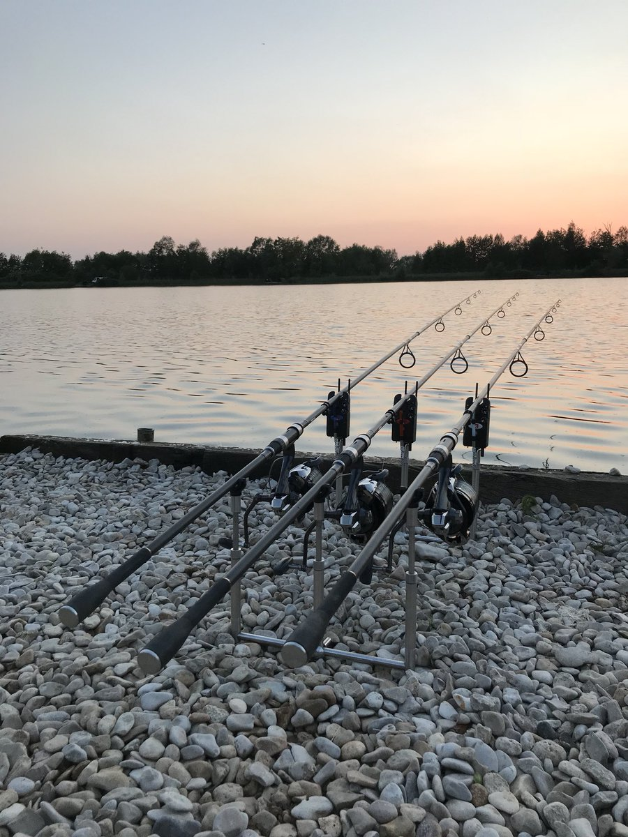 Rods are out, weeks social with some of the KARPER lads in France. #happytimes #karperltd #baylakes