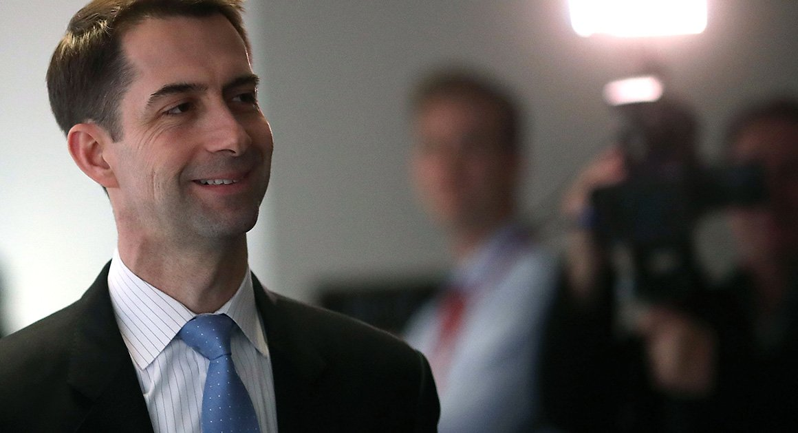 If this were Obama  we would s tom cotton