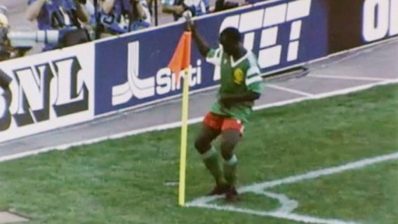 A REMINDER:  Happy Birthday Roger Milla A World Cup goalscorer at the age of 42. What a legend!