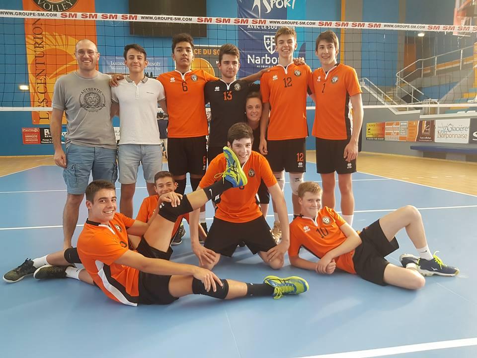 Bravo aux #cadets @FFvolley qui ont remporté leur championnat d'Occitanie Est en...
