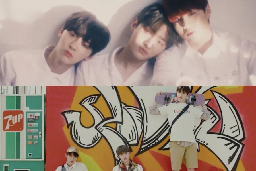 WATCH: #WannaOne Releases Concept Films For Units #LeanOnMe And #TriplePosition  https://t.co/GmN5R6QvO4 https://t.co/WREQlvHdB6