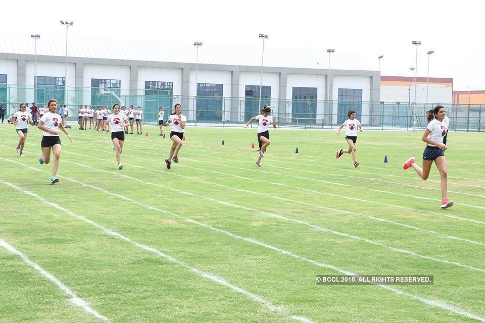 #MissIndia2018 finalists at @bennettuniv: 100 metres race https://t.co/P2igbg3PtX https://t.co/t6gLdd0Tsz