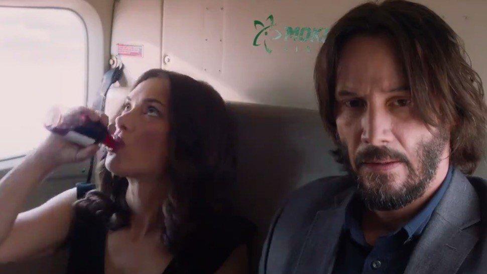 Watch #WinonaRyder and #KeanuReeves reunite for a new rom-com trailer: https://t.co/ecFHCBVyFs #DestinationWedding https://t.co/cSxkKAZAXa