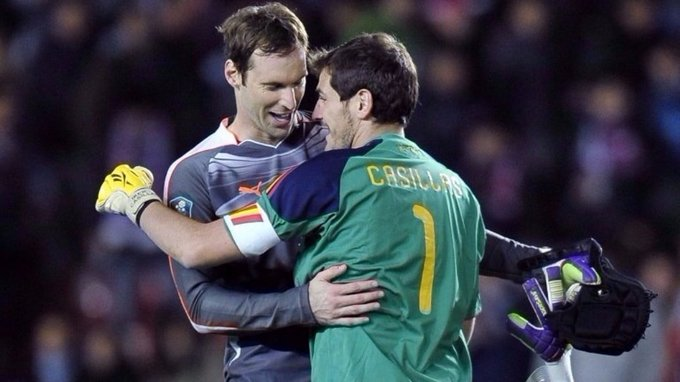 Two legendary goalkeepers celebrate their birthday today - many happy returns to Iker Casillas and Petr Cech!