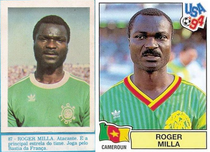 Happy Birthday to Roger MILLA (World Cup 1982 & 1994)