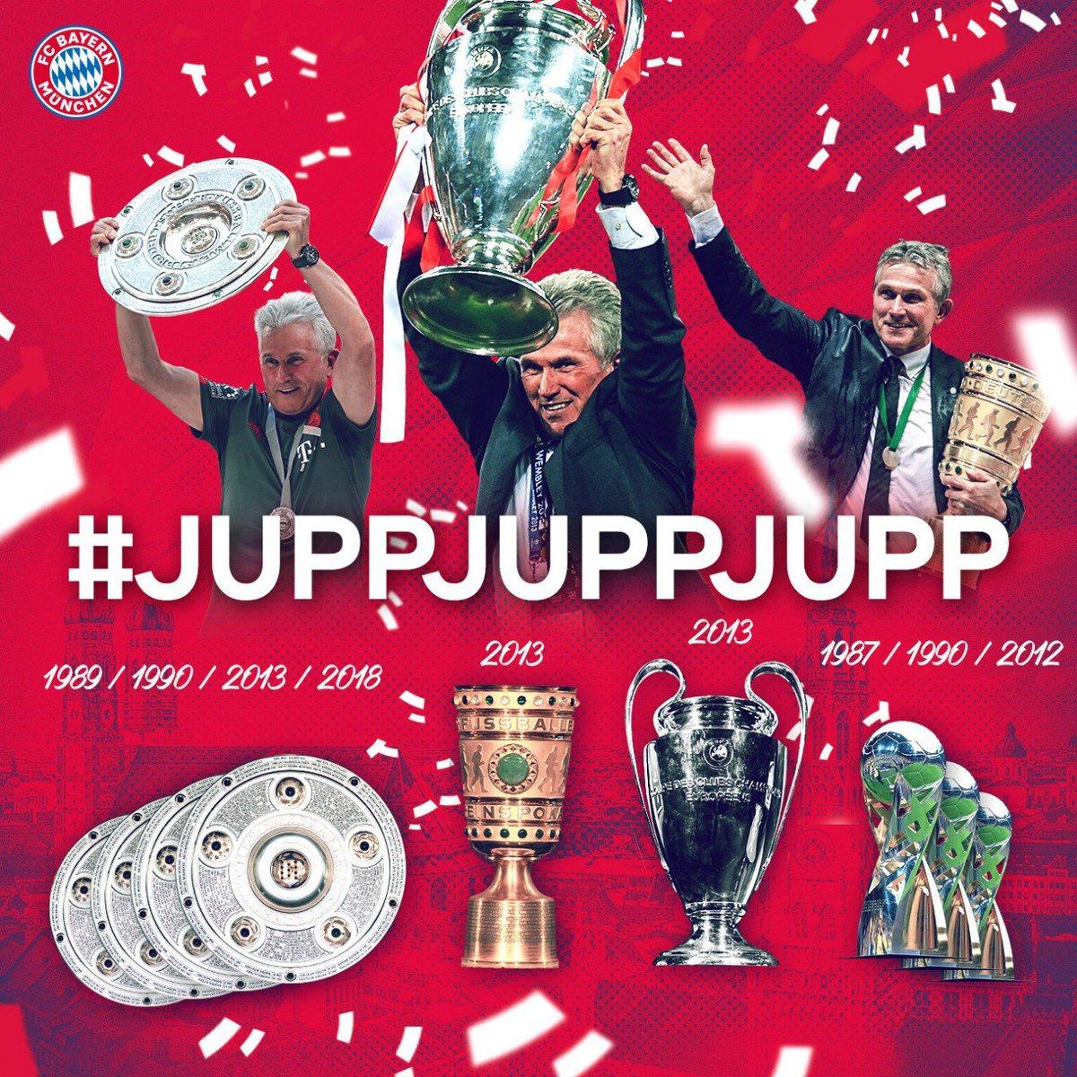 RT @FCBayern: #DankeJupp #JuppJuppJupp https://t.co/hfBhC1UnMV