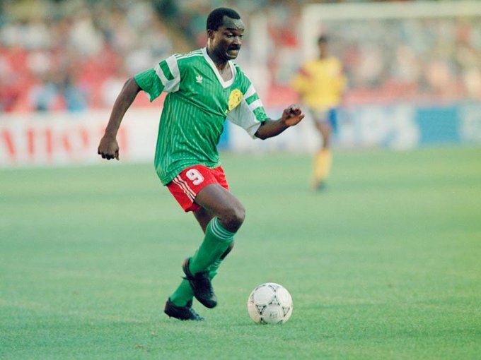 Happy Birthday to the legendary Roger Milla!