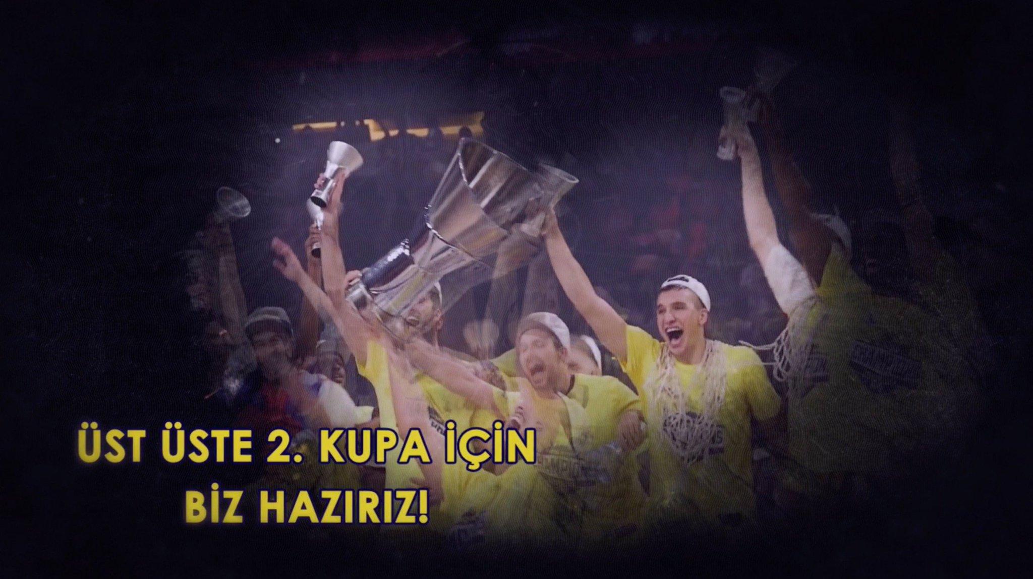Üst üste 2. kez Euroleague şampiyonu olmanın #TamZamanıŞimdi! Kalbimiz sizinle @FBBasketbol! ���� https://t.co/r1A6eqW6rt