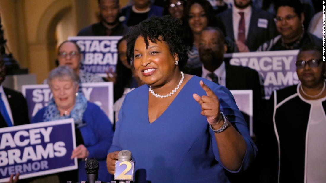 Why Democratic presidential prospects are rushing to back Georgia's Stacey Abrams https://t.co/TFxwSlbE30 https://t.co/w1j0tMsuol