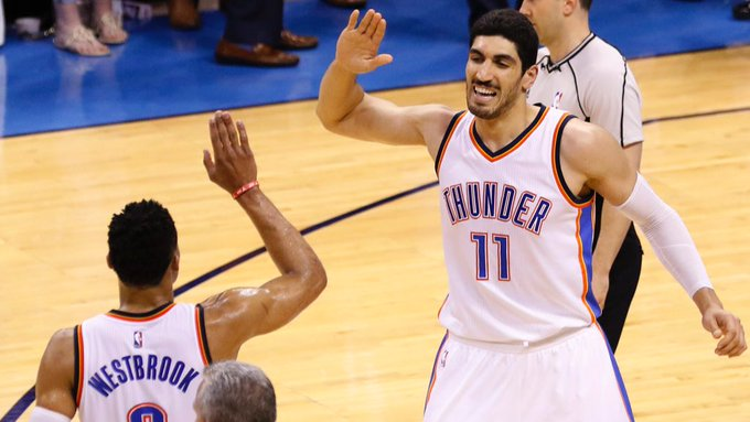 HAPPY BIRTHDAY ENES! OKC STILL LOVES YOU!!!