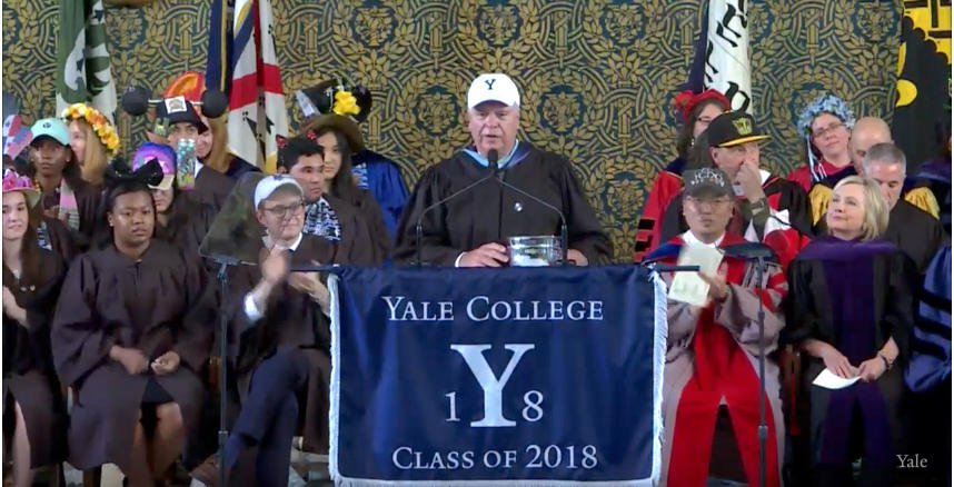 A special thank you to @YaleAthleticsDirector Thomas Beckett https://t.co/orETgDghA3