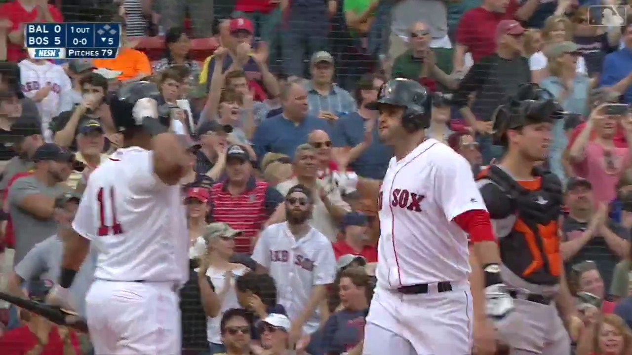Mookie Betts - 15 @JDMartinez14 – 15  This is getting absurd. https://t.co/QCP6NPXald