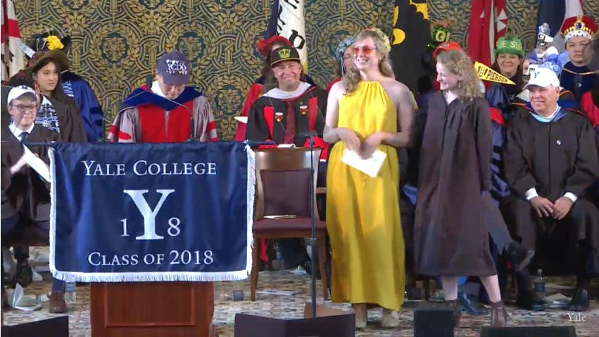 Mary Chandler Gwin and Maisie Louise Mattia honored with Louis Sudler Prize #Yale2018 https://t.co/a5VNGUtkiz