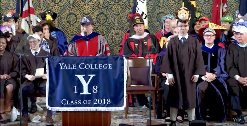 Martin Lim has won the Arthur Twining Hadley Prize #Yale2018 https://t.co/LZGOevXp0m