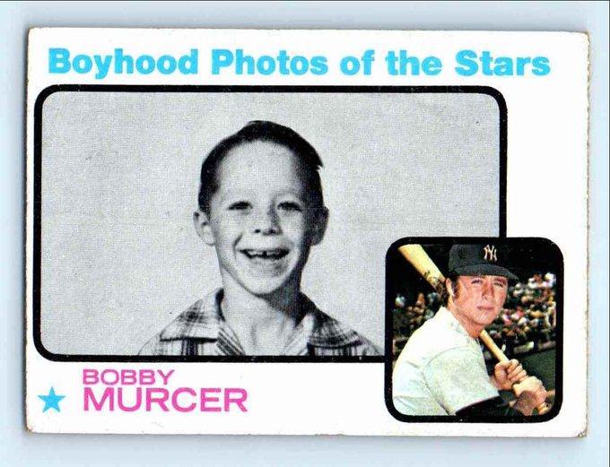 Happy birthday Bobby Murcer - RIP in Yankee heaven!