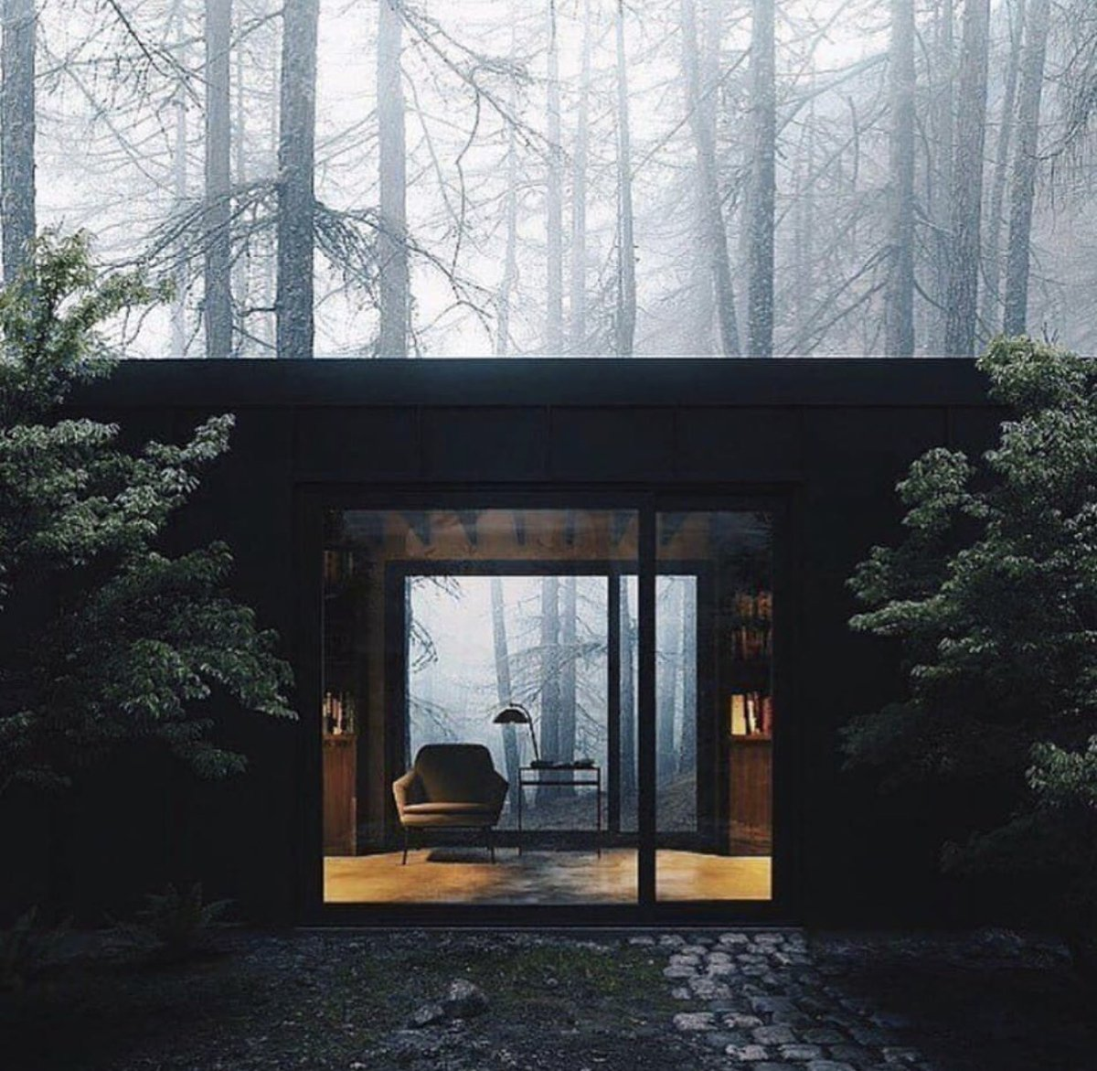 I think I wanna build a nice little hideaway like this in my forest-y backyard 😳😍😭 8iu1
