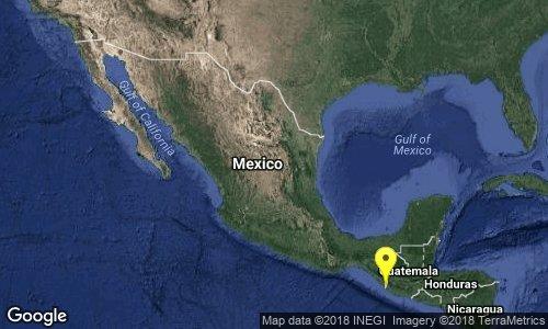 test Twitter Media - SISMO Magnitud 4.5 Loc  6 km al NORTE de CD HIDALGO, CHIS 20/05/18 20:38:26 Lat 14.73 Lon -92.16 Pf 117 km https://t.co/k0pgsoVl15
