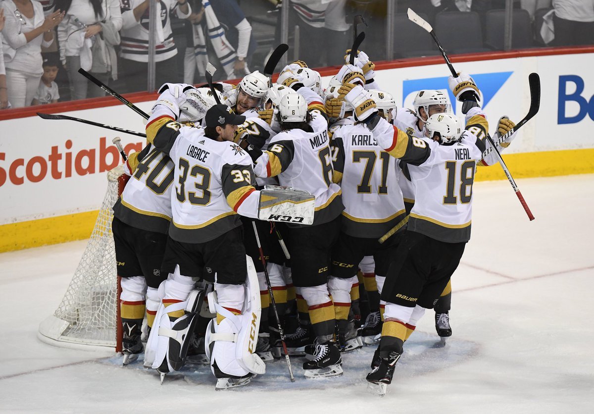 RT @GoldenKnights: The little expansion team that could https://t.co/IHt1u7XDjU