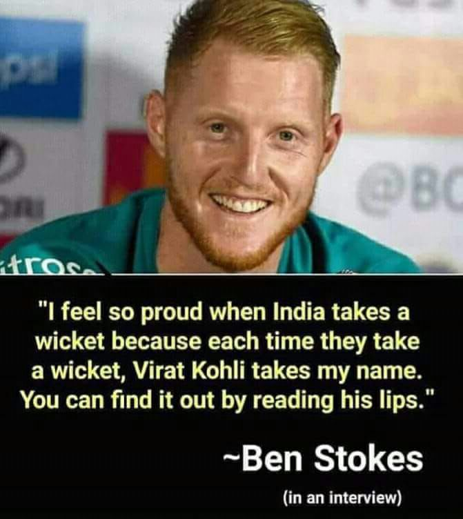 Ben Stokes!!!! 😂😂 https://t.co/hIBNQqMn3v