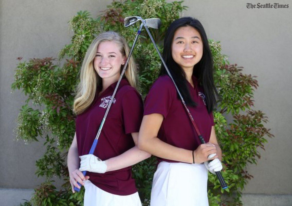 test Twitter Media - Focus on team over individual has helped Mercer Island girls to state golf titles two of the past three years. They're in contention for another as state tournaments tee off on Tuesday. (via @ShaneMLantz)  https://t.co/amXfNOmvpJ https://t.co/zE72PoCbQC