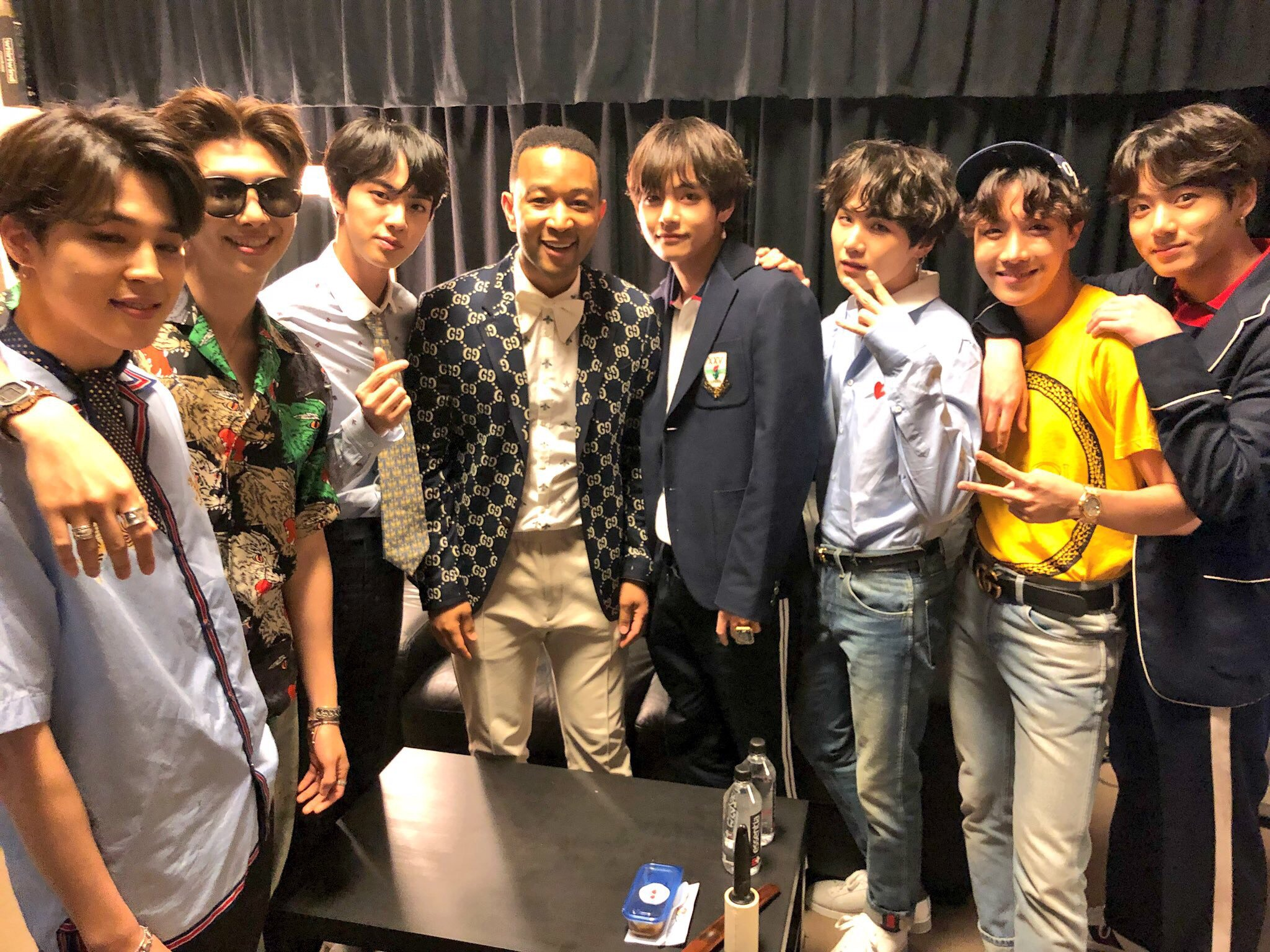 Backstage at the #BBMAs2018 with @BTS_twt https://t.co/6zLl1uCKgZ