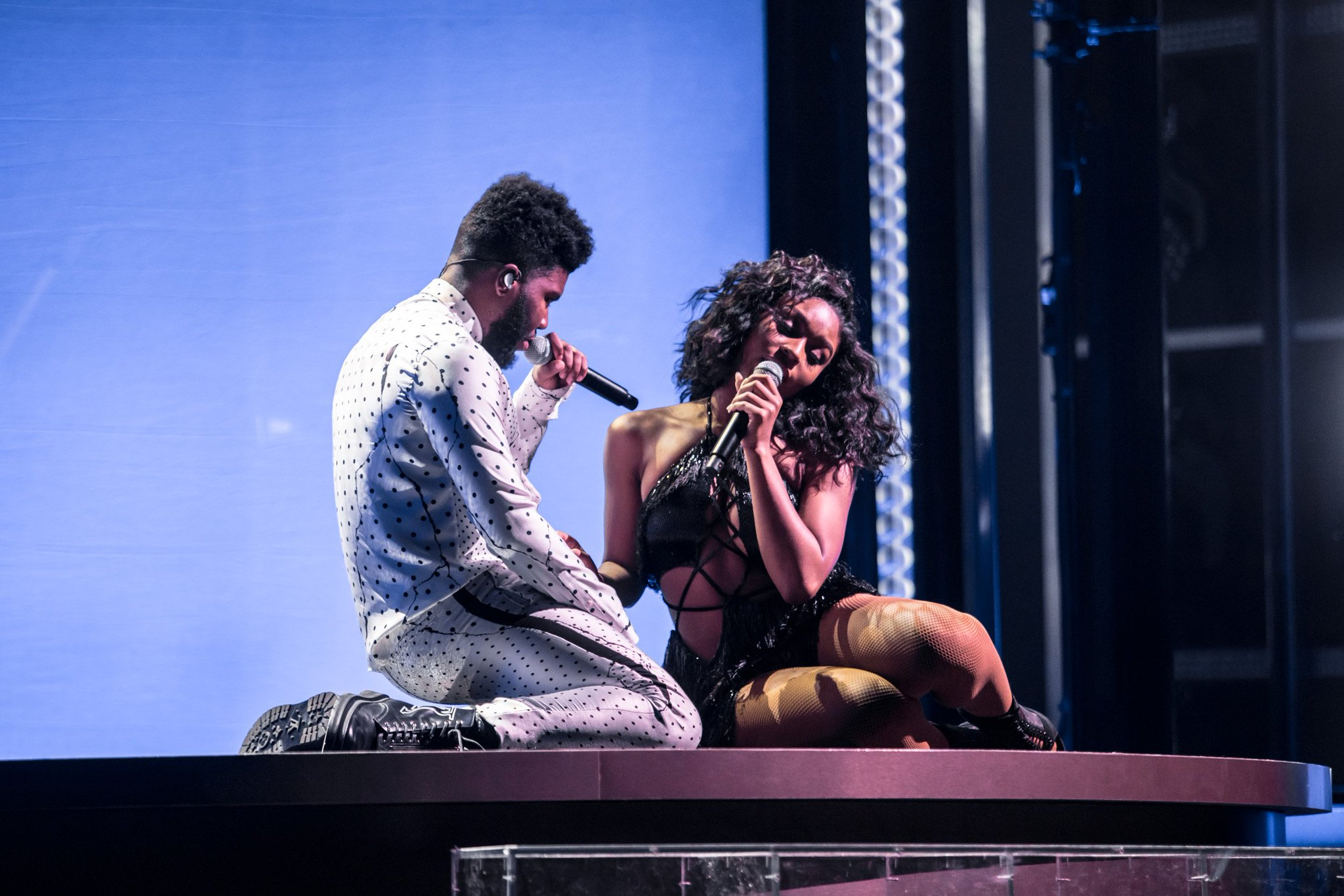 .@normani & @thegreatkhalid performing Love Lies at the 2018 Billboard Music Awards (pic via DCP Social/DCP Digital) https://t.co/sRPnovICG7