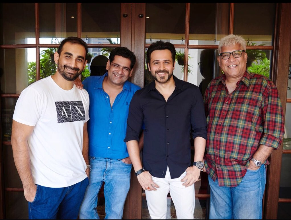 test Twitter Media - Announcement : @emraanhashmi and @kunal_deshmukh announce their next film as they reunite on the 10th anniversary of Jannat . The movie is written by @ShridharR , produced by #EmraanHashmiFilms and @nrpachisia - https://t.co/rCiCUN54W0 https://t.co/5K5AcaUI0a