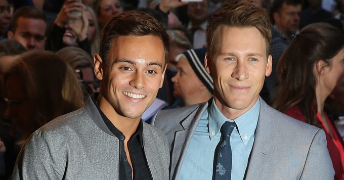 Dustin Lance Black wishes husband Tom Daley a happy birthday with an adorable snap