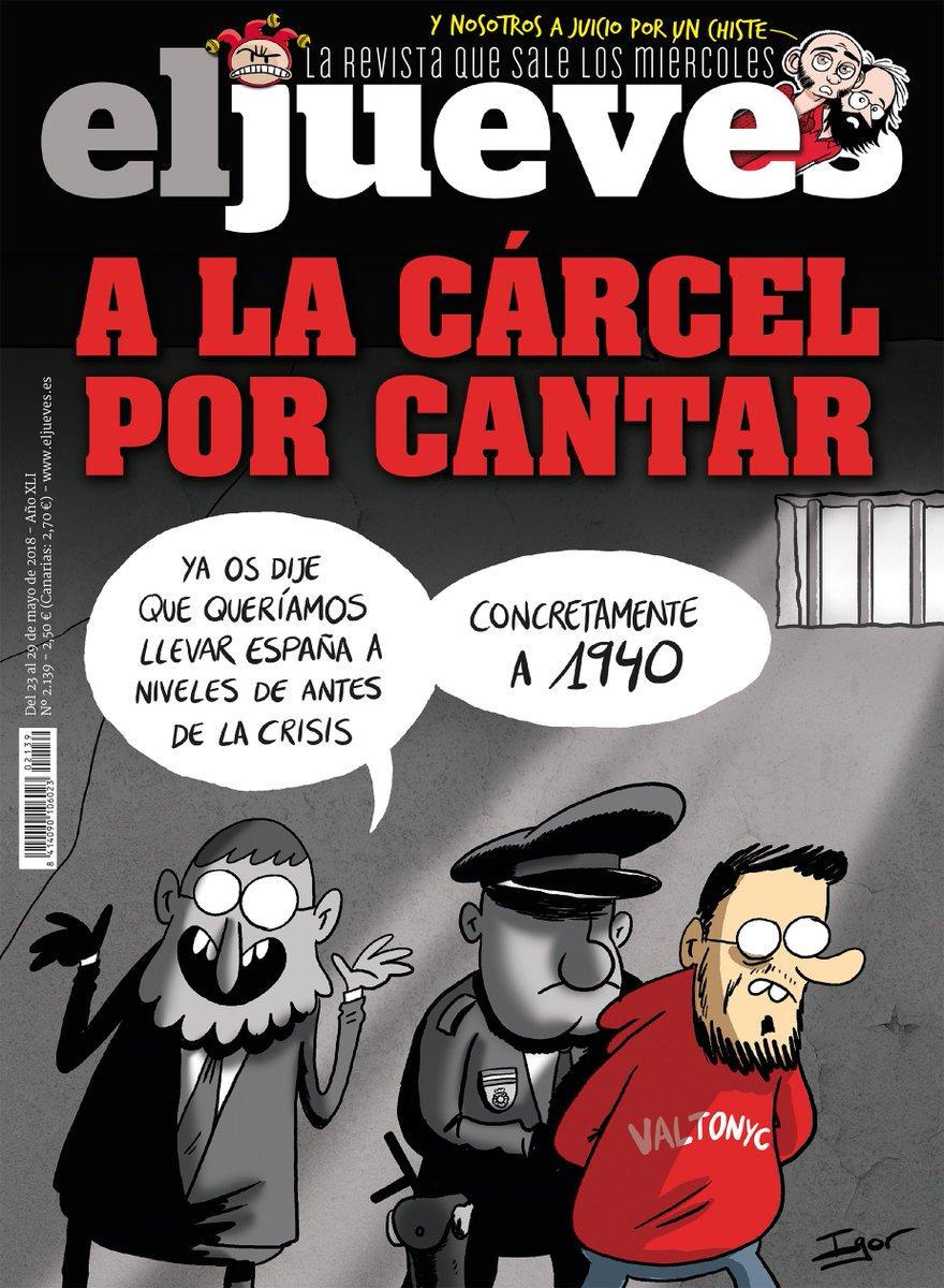 RT @eljueves: ¡LA PORTADA! Es muy grave... https://t.co/KMzhtahGd7