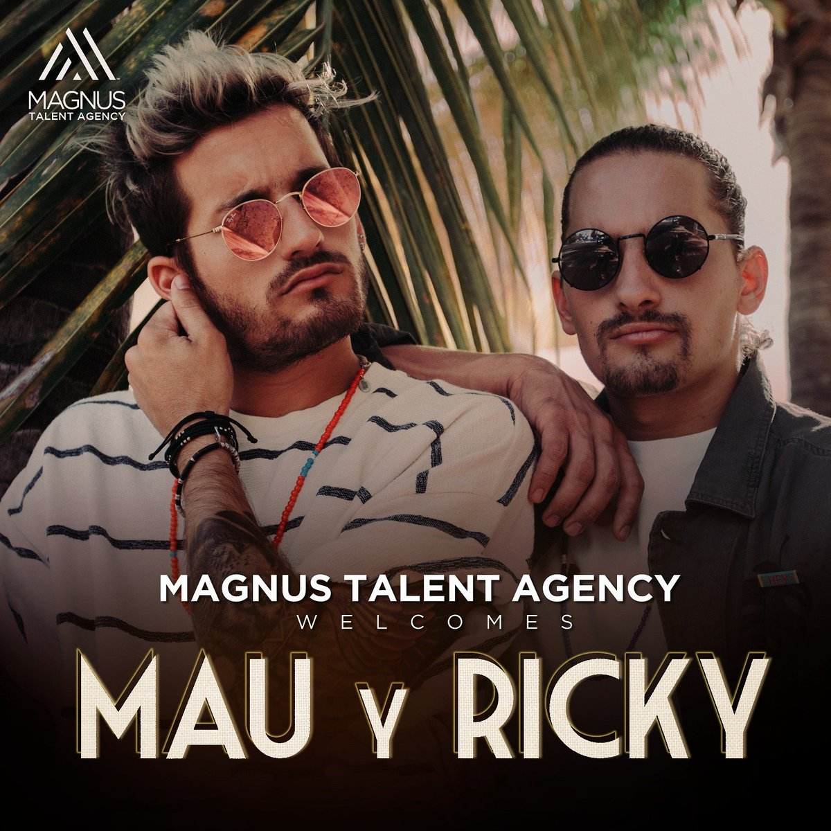 Welcome to the Family || Bienvenidos a la familia @MauYRicky #EstoSigue #MagnusStrong https://t.co/k9MKZ8Nine