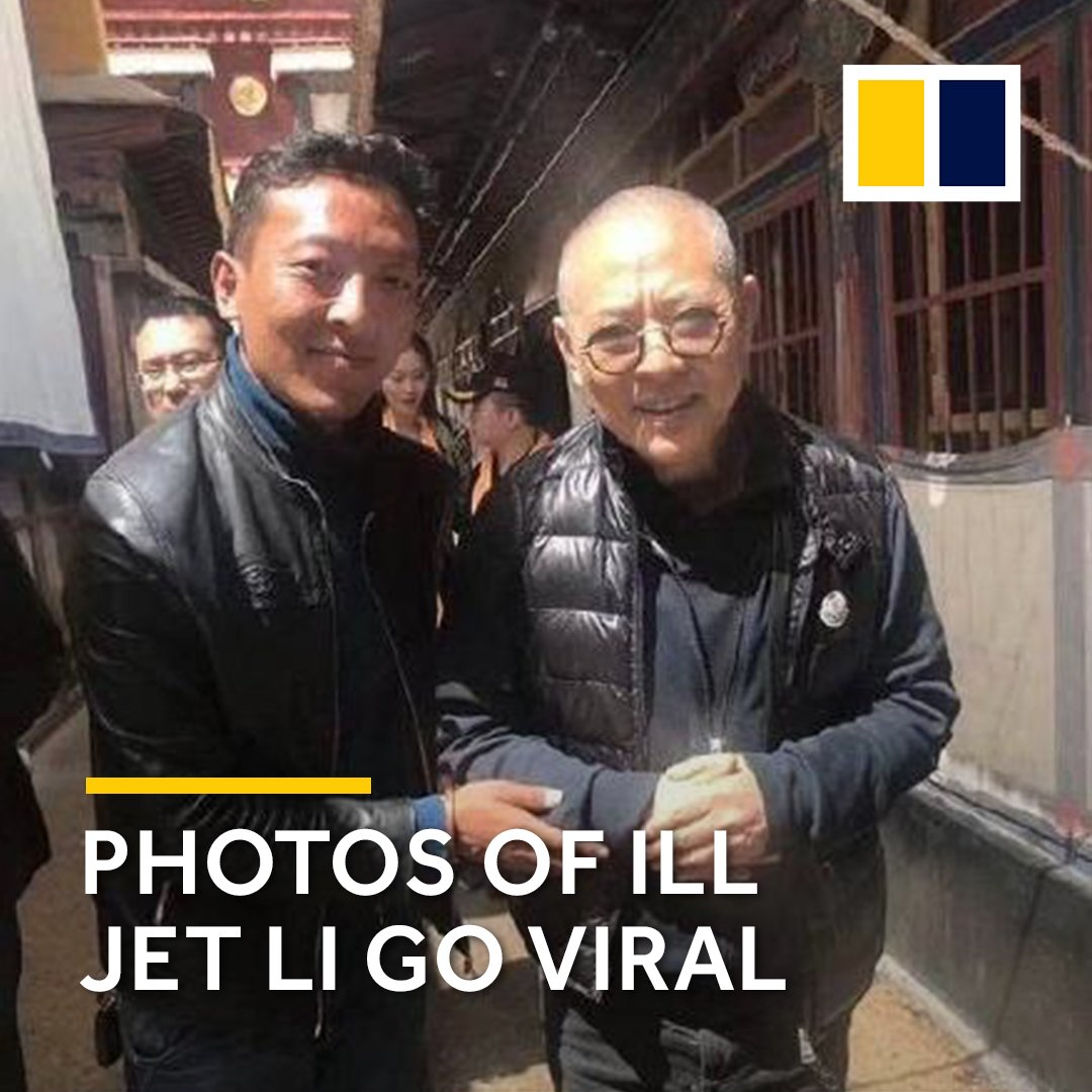 A viral photo has Jet Li fans  jet li