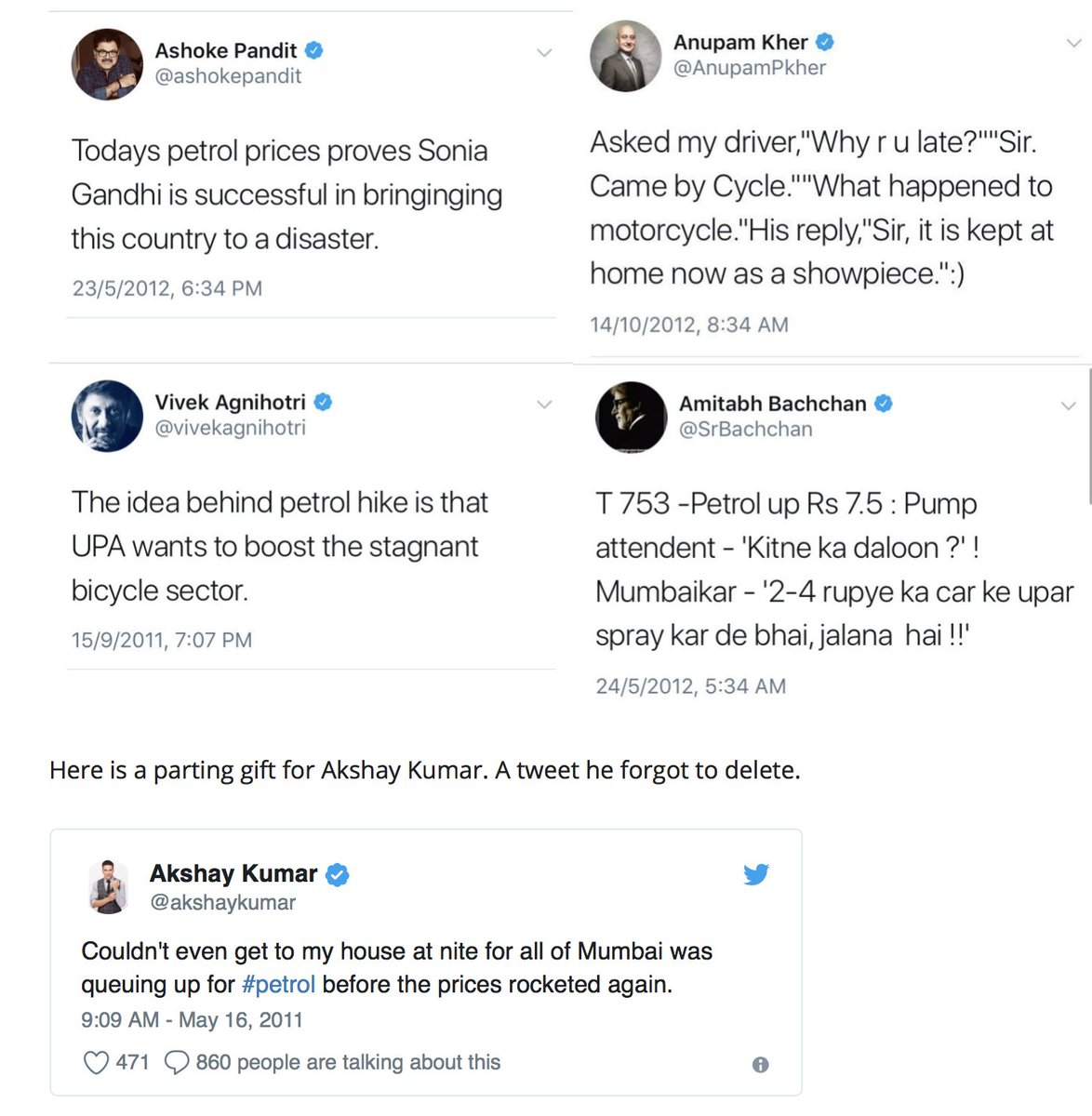 test Twitter Media - Modi's luck runs out and old tweets haunt Bollywood's Modi Bhakts! https://t.co/XgAtWem0gt https://t.co/k1I2KUbYVW