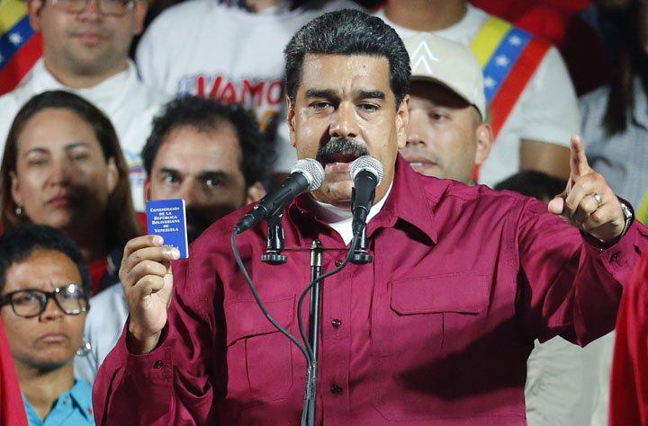 @BroadcastImagem: Maduro vence eleição em que menos da metade votou; opositor denuncia fraude. Ariana Cubillos/AP