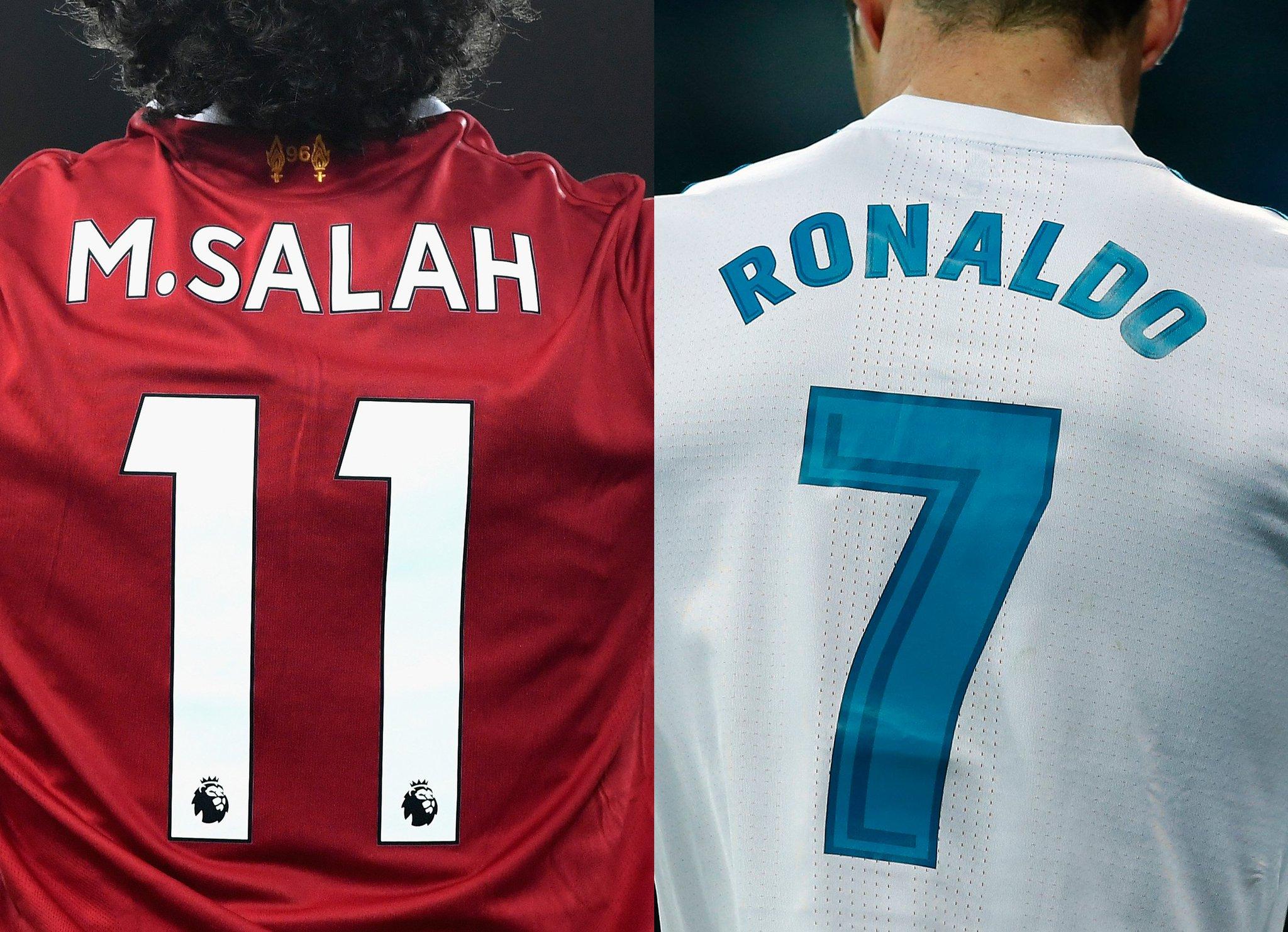 Salah or Ronaldo? ��  #UCLfinal https://t.co/S5iCXiQ4D1