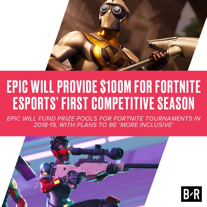 Epic is committed to Fortnite esports 😱 https://t.co/mD9U34bV5Z