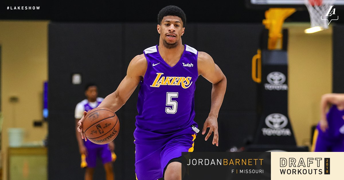 Working out for the  LakeShow  mizzouhoops