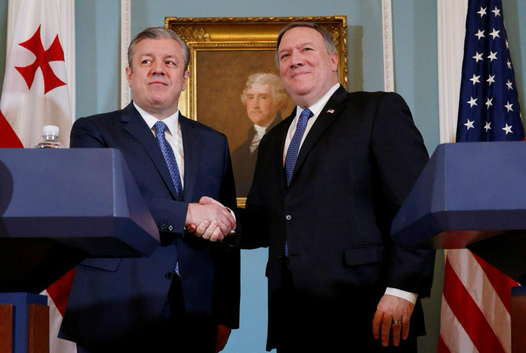 U.S.'s Pompeo pledges support for Georgia, calls for Russia troop pullout https://t.co/2pIGPYq5gy https://t.co/9NWjA0yZ4f