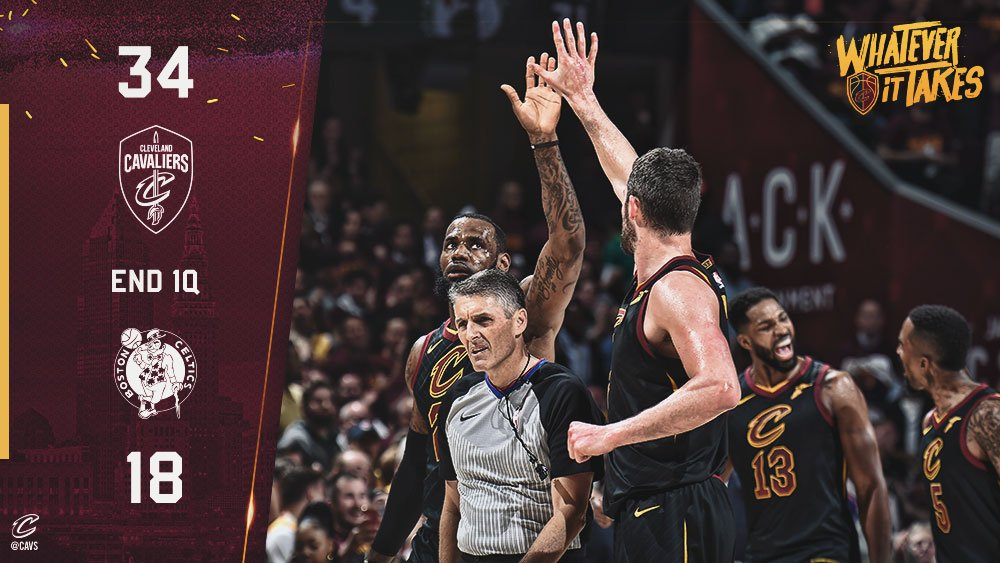 Off to another strong start in The Land! #WhateverItTakes https://t.co/34gx17yhme